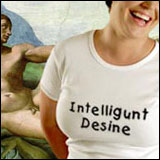 Intelligunt Desine T-Shirts, Stickers, Mugs, Baseball Hats, and More!