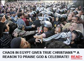 Read About How Crazy Egyptians are Kicking Off the End of the World in Cairo!