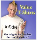 Value T-Shirts in the Landover Baptist Store!