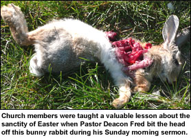 Deacon Fred Teaches Church Members a Valuable Lesson About the Sanctity of Easter - Read More!