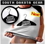 South Dakota: The Hanger State - Mugs, Shirts, Bumpers, and Buttons!