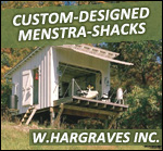 See Custom Designed Menstra Shacks!