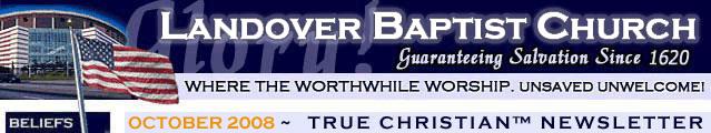 Landover Baptist is America's Favorite Church!