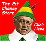 Merry Goddamned Christmas from Dick Cheney