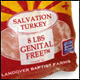 Accept Christ and Get a Free Frozen Turkey!