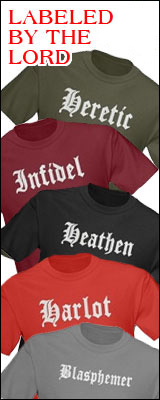Click Here for Labeled By the Lord T Shirts and Gifts