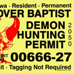 Witch, Wiccan, Harlot, Demon and even more Terrorist Hunting Permits