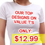 Value T-Shirts with all the coolest Landover Baptist Designs on Sale