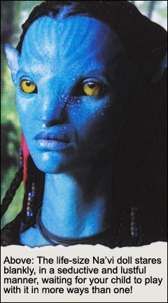 The Satanic Na'vi Doll: The Most Popular Masturbation Toy for America's Youth