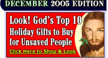 God's Top 20 Holiday Gift Ideas!