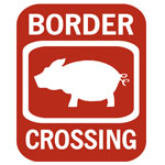 The Swine Flu Border Crossing and Border Patrol Gear!  Current Event Humor!