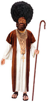 we find black jesus halloween costumes disrespectful and