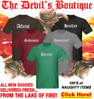 The Devil's Boutique - Goodies For YOU from the Lake of Fire!
