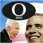 The Bestselling Political Humor Stickers on the Internet - Obama O Shit! Stickers