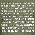 RATIONAL HUMAN SHIRTS AND GIFTS FOR HUMANISTS AND ATHEISTS