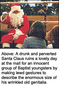 Santa Claus is a Pervert and Satan in Disguise