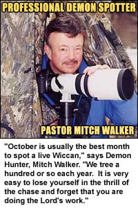 Pastor Mitch Walker:  No Link - CLASSIFIED DEMON HUNTER!